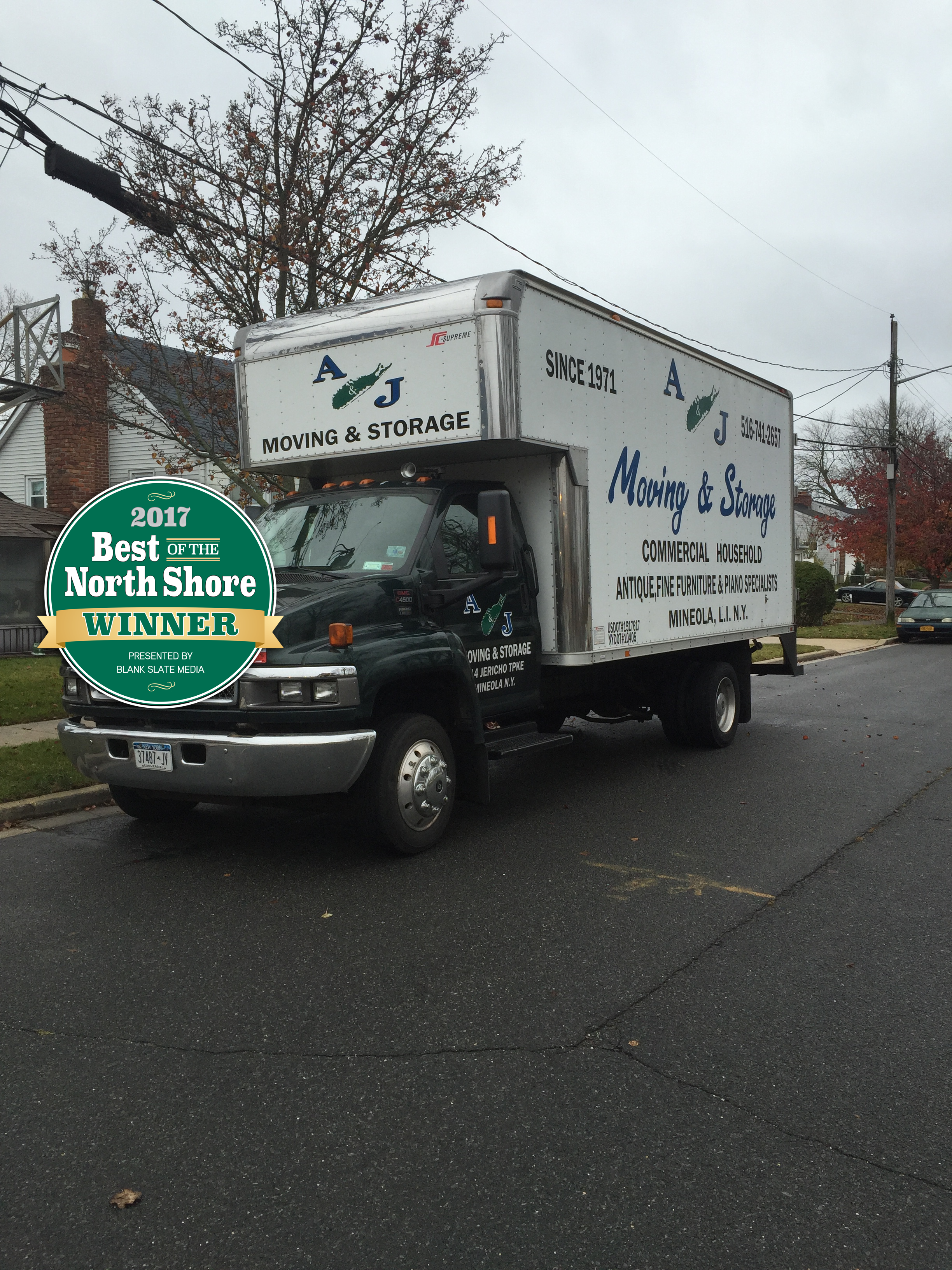 A & J Moving & Storage of Mineola NY Offers Junk removal services